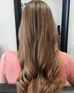 brunette balayage colour me beautiful hair salon albuquerque