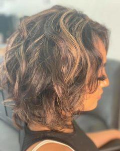 curly hairstyle colour me beautiful hair salon albuquerque