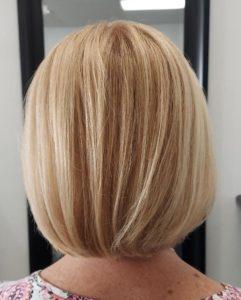 short bob hairstyle colour me beautiful hair salon albuquerque