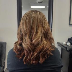 foil-highlights-auburn-hair-color-colour-me-beautiful-hair-salon-albuquerque