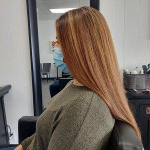 full-highlight-on-brunette-hair-colour-me-beautiful-hair-salon-albuquerque